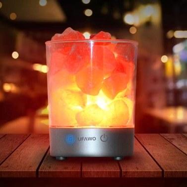 UFAWO U1 Wireless BT Speaker+Crystal Salt Rock Lamp