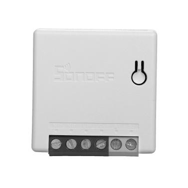 SONOFF MINIR2 Двусторонний интеллектуальный переключатель DIY (обновление MINI) Wi-Fi-переключатель Программируемый таймер переключателя света Поддержка SPDT / кулисные переключатели для бытовой техники Замена потолочного вентилятора для Amazon Alexa и Google Assistant