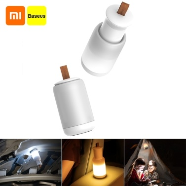 Xiaomi Youpin Baseus Emergency Light Vehicle Mounted Light Magnetic Absorption Lamp Handheld Lamp Flashlight