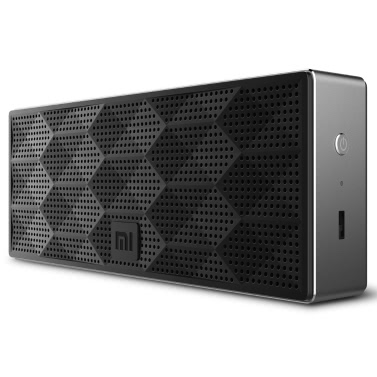 Xiaomi Square Box Wireless Mini BT Speaker  10 Hours BT 4.0 Handsfree  Stereo Bass Speaker Black Aluminum Xiaomi iPhone Android Phone
