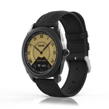 """INCHOR InClock 0.42 """"OLED Smartwatch mit Auto-Kalibrierungsmodul BT 4.0 Activity Tracker Zeit Erinnerung Anruf Benachrichtigung Blutdruck Herzfrequenz Gesundheit Sleep Monitor Watch"""
