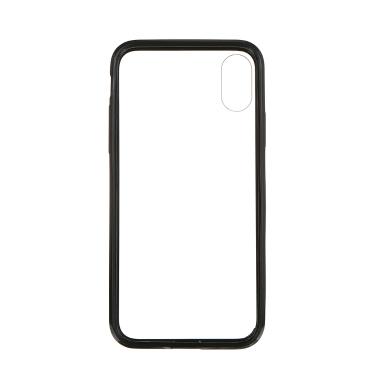 Ultradünner transparenter Handy-Fall des Acryl für harte Schale IP8