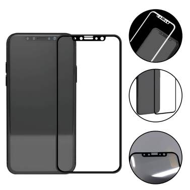 Curved Full-screen Toughened Film 3D Covering Ultra-thin Full Protective Glass Film Hard Edge Protector for IP8