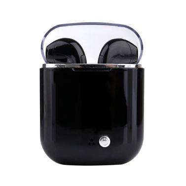 Auriculares estéreo inalámbricos antiruido BT Earbud del auricular con la caja de carga cristalina portátil
