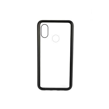 Metallrand Handy-Gehäuse gehärtetes Glas magnetische Adsorption Schutz Smartphone