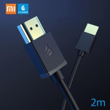 Xiaomi HAGIBIS HD Multimedia-Schnittstellenkabel 4K 3D vergoldetes Kabel HDR für HDTV Splitter Switcher Extender Adapter Projektor Nintend Switch PS4 Xiaomi TV Box