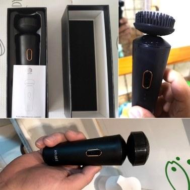 Xiaomi Youpin Kribee Elektrisches Gesichtsreinigungs-Reinigungsgerät für Männer Gesichtsreinigungsbürste Zwei Modi IPX7 Wasserdichte Gesichtsreinigungs-Hautmaschine