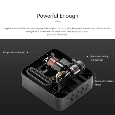 70mai Car Air Compressor Lite Protable Electric Car Air Pump Mini compressor Tire Inflator Auto Tyre Pumb 12V