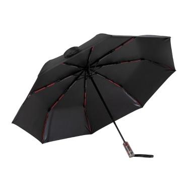 KongGu Mechanischer Anti-Rückprall-Automatik-Faltschirm Anti-UV UPF50 + Regenschirme Effiziente Sonnenlichtabschirmung und wärmeisolierender / Edelstahl / 102CM Durchmesser Faltschirm