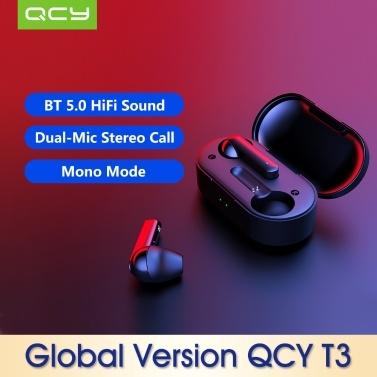 Versão Global Xiaomi QCY T3
