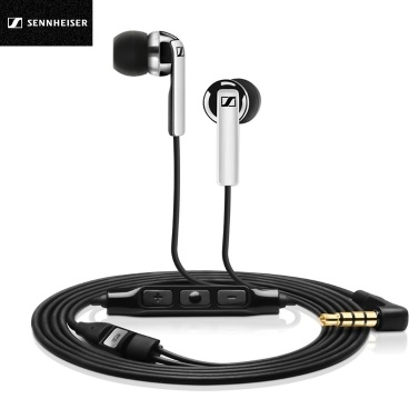Sennheiser CX2.00I Kopfhörer 3,5-mm-Musik-Ohrhörer in kabelgebundenen Ohrhörern Line Control Sports Running-Ohrhörer mit Mikrofonen für iOS-Geräte