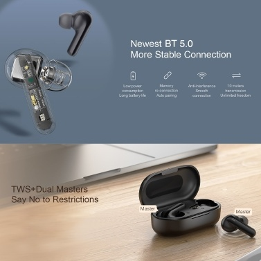 Haylou GT3 TWS In-Ear Earphones BT 5.0 Headphones with Touch Control