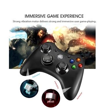 Kabelgebundenes Gamepad PC Computer TV-Spiel Joystick Dual Vibration Game Controller Konsole Für PS3 Steam