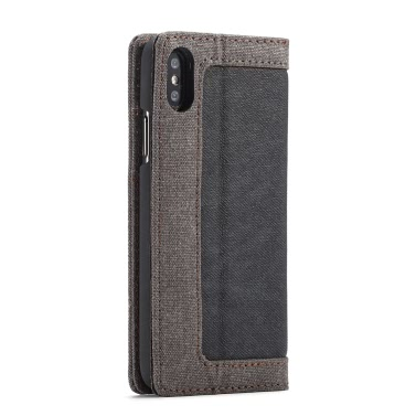 CaseMe Multi-function Phone Case Cover PU Leather Protective Shell Wallet Phone Case Flip Holster Carrying Case Card Holder for iPhone X