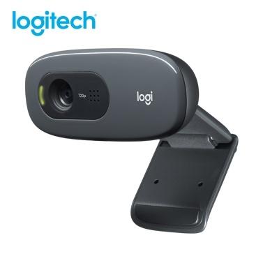 Xiaomi Logitech C270 HD Веб-камера 720P Видеокарта Веб-камера 720P Оптическая линза с шумоподавлением Микрофон USB2.0 Plug and Play Мини-компьютерная камера для ноутбука ПК
