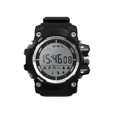 Microwear XR-05 Wasserdichte Fitness Tracker Smart Band Uhr Schrittzähler / Kalorienverbrennung / Schlaf Monitor / Höhe / Luftdruck / Temperatur BT Sport Armband Anrufe Benachrichtigung Aktivität Tracking für iPhone Samsung