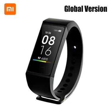 Global Version Xiaomi Mi Band 4C Smartband Heart Rate Fitness Tracker 1.08 inch Color Screen BT5.0 USB Charging Waterproof Smart Bracelet Smart Wristband