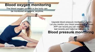 T2 Smart Watch 1,3 zoll Bunte Bildschirm 240 * 240 Pixel BT4.0 Herzfrequenz Blutdrucküberwachung Fitness Alarm IP67 Wasserdicht Mode Sport Männer Frauen Smartwatch für iOS / Android