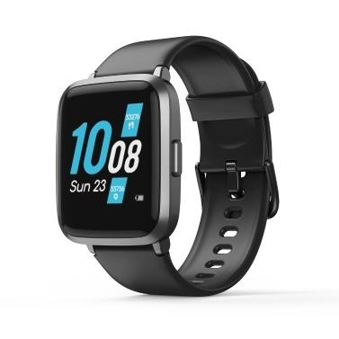 KOOGEEK ID205U Smart Watch Tracker fitness nero