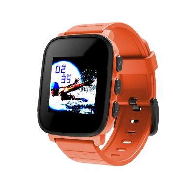 SMA Q2 Smart Watch Speicher LCD-Display 3ATM Wasserbeständigkeit Herzfrequenz-Erkennung Verbunden GPS Tracking Text & Kalender Warnungen 200mAh Akku