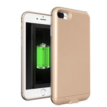 Für iPhone 7 8 Plus 4000mAh Externe Batterie Externe USB Port Energienbank Ladegerät Pack Backup Batterie Fall
