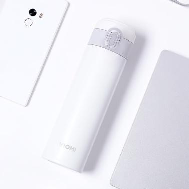 Xiaomi VIOMI Isolierflasche Edelstahl Vakuum 24 Stunden Flasche Wasser Smart Flasche Thermoskanne Kaffee Tee Milch Reisebecher Geschenk Thermocup 300ML