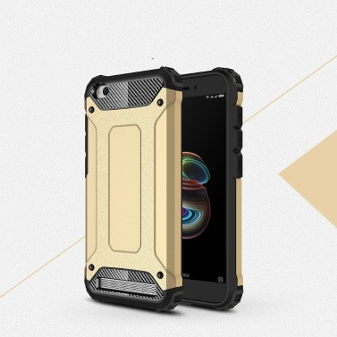 For Xiaomi Redmi 5A Case Slim Fit Dual Layer Hard Back Cover Bumper  Protective Shock-Absorption & Skid-proof Anti-Scratch Case 5 7 inch