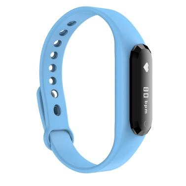 """IMCO DBL SWB001 Herzfrequenz Smart Watch Armband Armband BT 4.0 0.69 """"OLED Eingehende Anrufbenachrichtigung Pedometer Schlaf-Monitor Anti-verloren für iPhone 6 6S 6 Plus 6S Plus-Samsung S6 S7 Rand"""