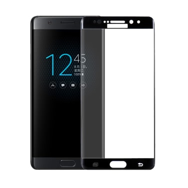 ICHECKEY 3D Arc Dual-dege Full Tempered Glass Screen Protector Cover Film for 5.7 Inches Samsung Galaxy Note7 9H Tough Ultrathin High Transparency Anti-dirt Shatterproof Anti-scratch