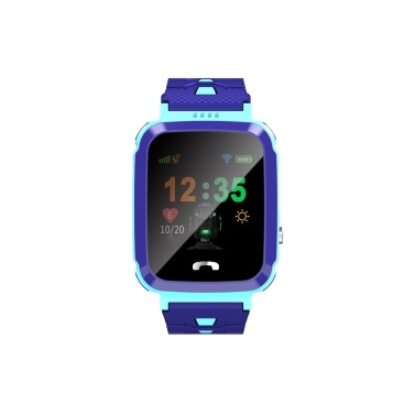 Children Security Intelligent Phone Watch Waterproof LBS Positioning One-Click SOS Anti-Lost IOS Android Voice Chat
