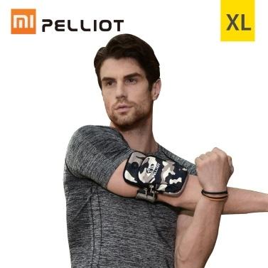Xiaomi pelliot arm band telefon case jogging paket mit kopfhörer stecker tasche gym armband universal wasserdichte telefon brieftasche tasche