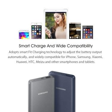 Samsung 10000mAh Power Bank For iPhone Samsung Xiaomi Huawei