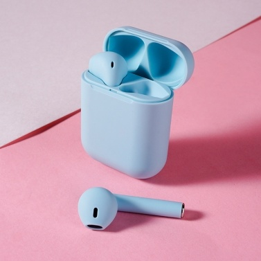 inPods 12 True Wireless Earphones Frosted Macaroon Wireless BT Earphones____Tomtop____https://www.tomtop.com/p-pae0483bl.html____