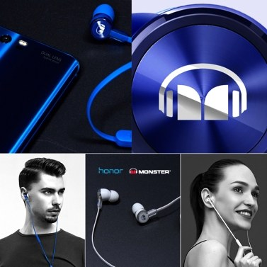 Honor monster Earphone AM15 With Mic Noise