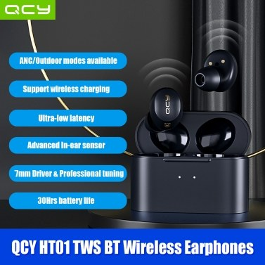 QCY HT01 TWS Headphones BT Wireless Earphones
