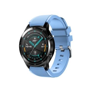 Correa de reloj de correa de reloj de silicona de 22 mm