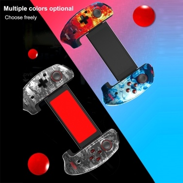 ipega PG-9083B BT Gamepad Wireless Retractable Game Controller Compatible with iOS(iOS11-13.3) Android Smartphone Tablet PC
