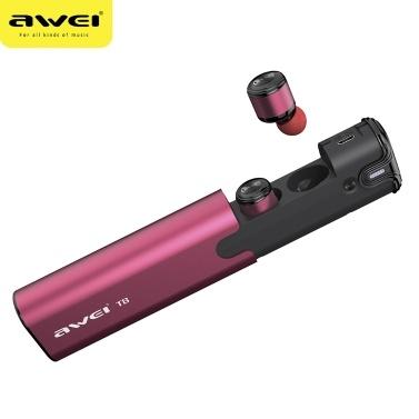 AWEI T8 TWS Binaural Wireless BT 4.2 Kopfhörer
