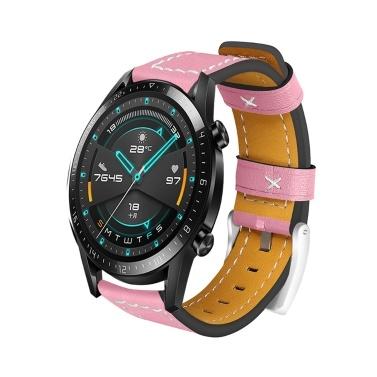 22mm Leder Uhrenarmband Quick Release Ersatz Uhrenarmband