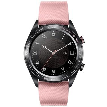 Honour Watch Dream Smart Watch 1,2-Zoll-AMOLED-Farbbildschirm 390 * 390 PPI 326 GPS GLONASS BeiDou BT 4.2 Echtzeit-Herzfrequenz-Druck Sleep-Management Mehrere Sport-Armbanduhren für Android 4.4 / iOS 9.0 und höher