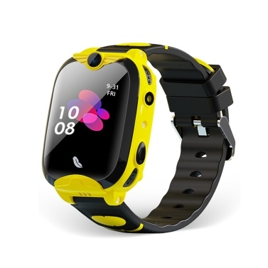 1.4-inch Kids 4G Smart Watch with 2-Way Call Voice Chat Remote Voice Monitoring GPS/ Wi-Fi/ LBS Location SOS Emergency Help Fitness Bracelet IP67 Waterproof Touchscreen Smart Phone Watch for Boys Girls Children Students