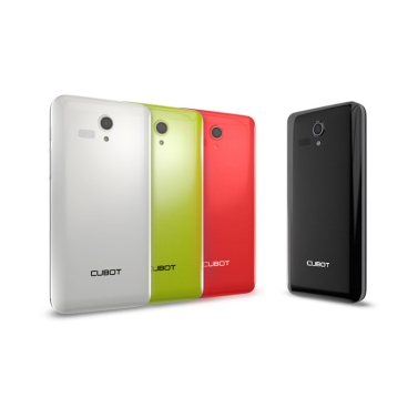 "Cubot Bobby 3G Smartphone Android 4.2 MTK6572W A7 Dualcore 1,3 GHz 5"" IPS QHD 8MP/2MP 512 MB RAM + 4GB ROM BT GPS grün"