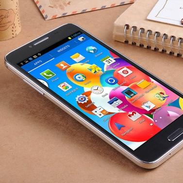 "Landvo L800S Smartphone Android 4.4 MTK6582 Quad-Core 1,2 GHz 5"" IPS kapazitiver Bildschirm 1GB / 4GB WCDMA 3G 5MP / 0.3MP Kamera BT GPS schwarz"