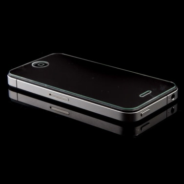 T-GLAS Premium gehärtetes Glas Screen Protector für iPhone 4 4 s Wein rot