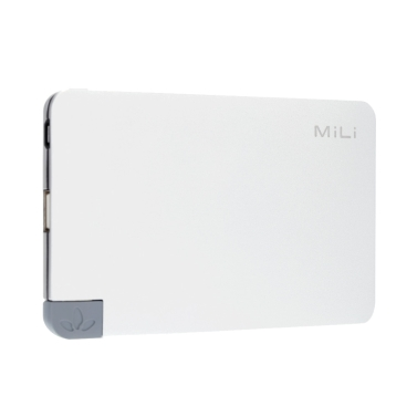 MiLi Nova I HB-T05-1 Ultra Dünn 5000mAh Power Bank USB Externer Akku Ladegerät für iPhone 6 6 Plus Samsung HTC Smartphone Xiaomi