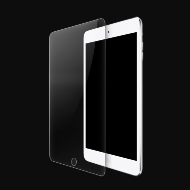 Tempered Glass Screen Protector Cover Protective Frame Curved Arc  iPad Air iPad Air 2 9H Ultrathin High Transparency Anti-dirt Shatterproof Anti-scratch