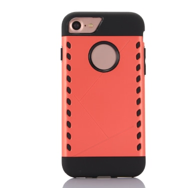 KKmoon Schutzmaßnahmen zurück Fall Auto Shell Cover für Apple iPhone 7 Smartphone