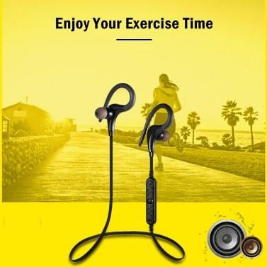 Awei A890BL In-Ear-Sport-BT-Kopfhörer Universeller Stereo-Kopfhörer Wasserdichter, schweißfester Sport-Ohrhörer mit Ohrbügel