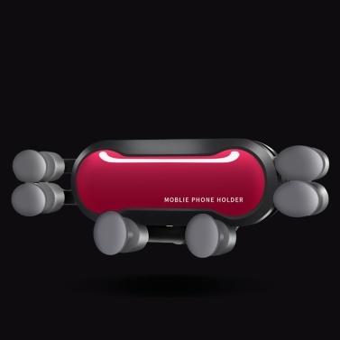 Universal Handyhalter Schwerkraft Halterung Ständer Auto Air Vent Mount Smartphone Halter