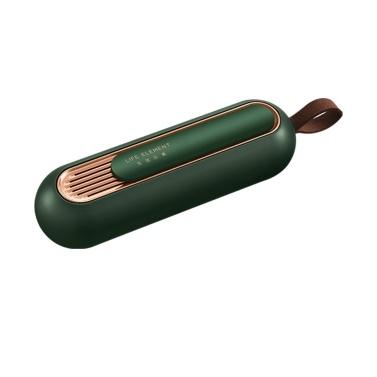 LEBENSELEMENT Mini Ozon Luftreiniger Kühlschrank Deodorant 3000mAh USB Wiederaufladbare tragbare Sterilisation Halten Sie den frischen O3-Generator für Obst / Gemüse / Kühlschrank frisch